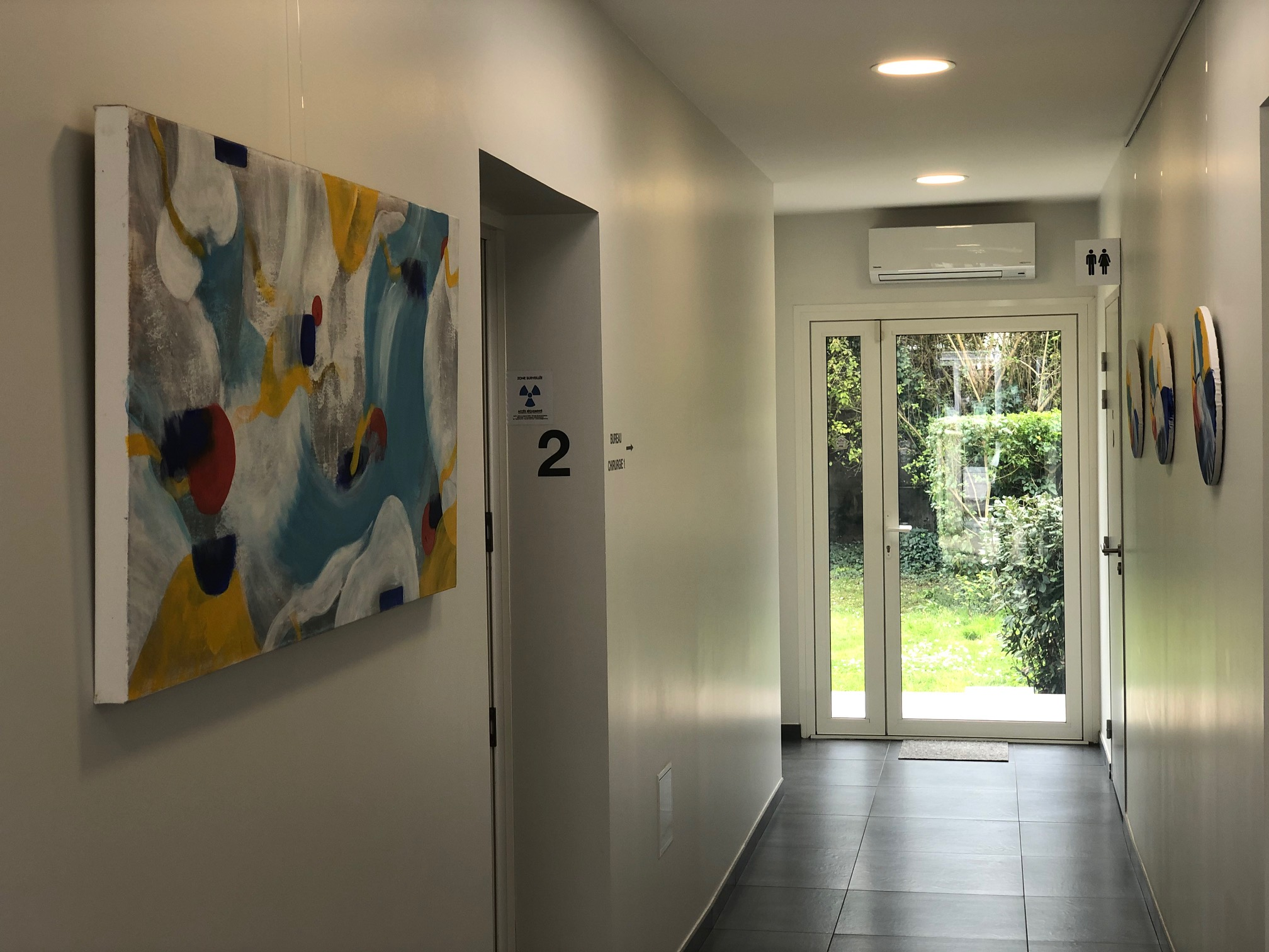 extension cabinet médical