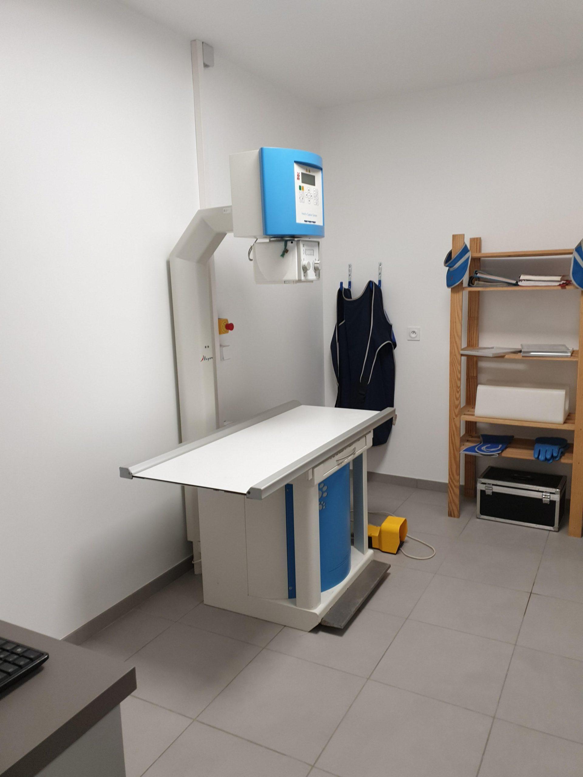 salle de radio clinique vétérinaire